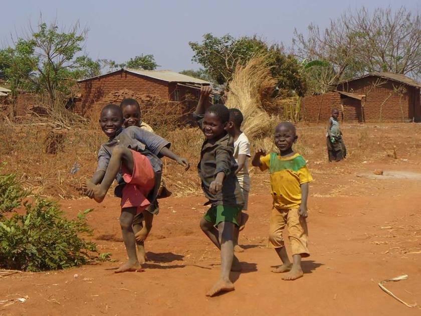 Waisenkinder in Malawi