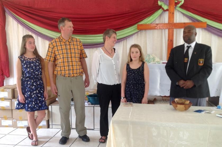 Silence dankt Familie Hinrichs für ihr Kommen